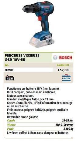 Bosch perceuse visseuse gsr 18v-55