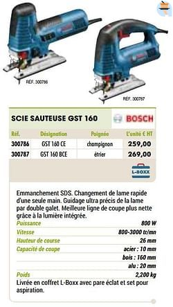 Bosch scie sauteuse gst 160