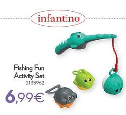 Fishing fun activity set