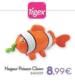 Nageur poisson clown