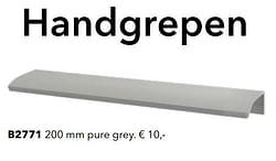 Handgrepen b2771 pure grey