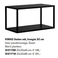 Ferro stalen rek id31700-Huismerk - Kvik