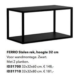 Ferro stalen rek id31700
