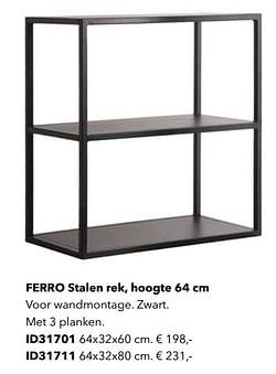 Ferro stalen rek id31701