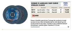 Disque à lamelles z sgp curve steelox x-lock