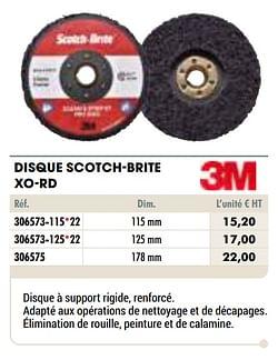 Disque scotch-brite xo-rd