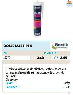 Colle mastirex