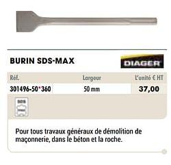Burin sds-max
