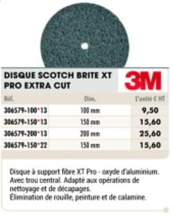 Disque scotch brite xt pro extra cut