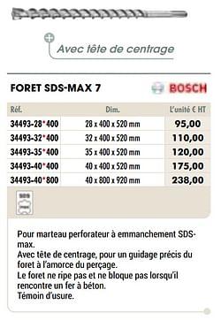 Foret sds-max 7