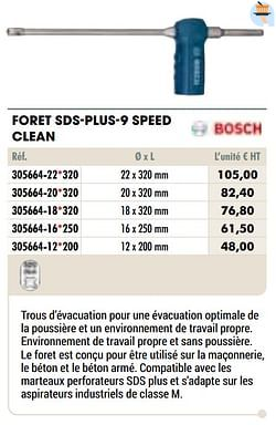 Foret sds-plus-9 speed clean