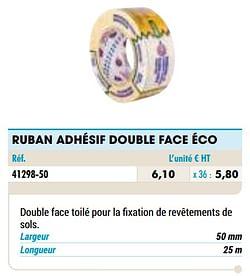 Ruban adhésif double face éco