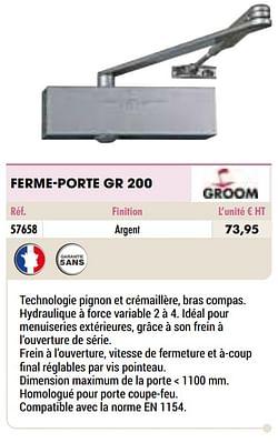 Ferme-porte gr 200