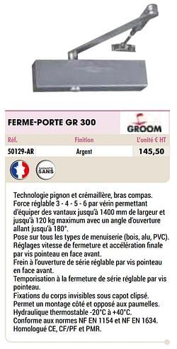 Ferme-porte gr 300
