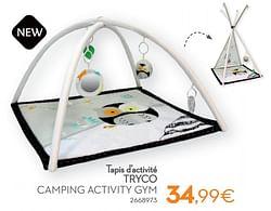 Tapis d`activité tryco camping activity gym