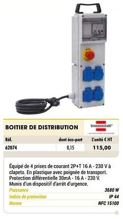 Boitier de distribution