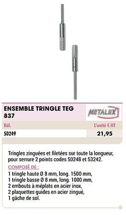 Ensemble tringle teg 837