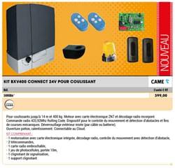 Kit bxv400 connect 24v pour coulissant