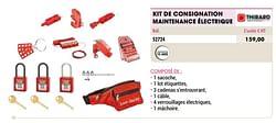 Kit de consignation maintenance électrique
