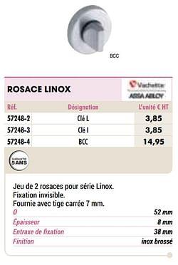 Rosace linox