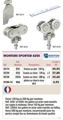 Monture sportub 6255
