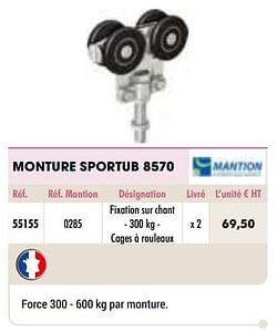 Monture sportub 8570