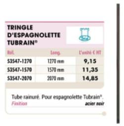 Tringle d`espagnlette tubrain