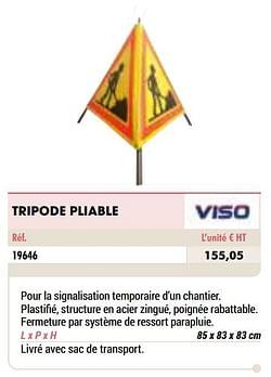Tripode pliable