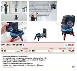 Bosch niveau laser gcl 2-50 c