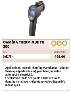 Geo fennel caméra thermique fti 300