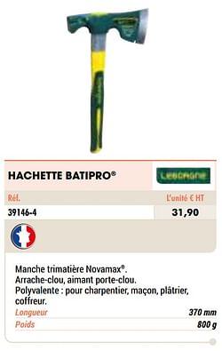 Hachette batipro