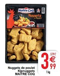 Nuggets de poulet kipnuggets maître coq-Maitre Coq
