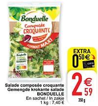 Salade composée croquante gemengde krokante salade bonduelle-Bonduelle