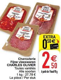 Charcuterie fijne vleeswaren charles olivier-Charles Olivier