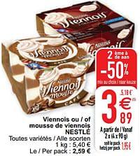 Viennois ou - of mousse de viennois nestlé-Nestlé