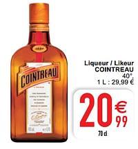 Liqueur - likeur cointreau-Cointreau