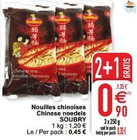 Nouilles chinoises chinese noedels soubry-Soubry