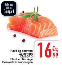 Pavé de saumon zalmmoot oméga 3-Huismerk - Cora
