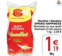 Nouilles - noedels spring happiness-Spring Happiness