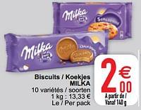 Biscuits - koekjes milka-Milka