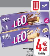 Biscuits - koekjes milka leo-Milka