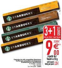 Capsules de café compatibles nespresso koffiecaps compatibel met nespresso starbucks by nespresso-Starbucks