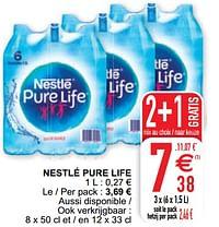 Nestlé pure life-Nestlé