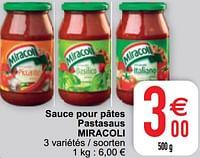 Sauce pour pâtes pastasaus miracoli-Miracoli