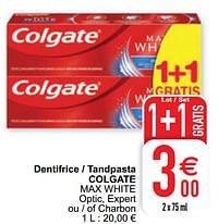 Dentifrice - tandpasta colgate max white-Colgate