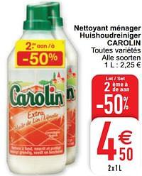 Nettoyant ménager huishoudreiniger carolin-Carolin