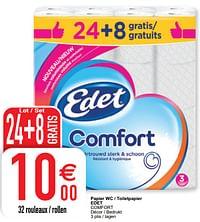 Papier wc - toiletpapier edet comfort-Edet