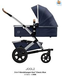 3-in-1 wandelwagen geo² classic blue-Joolz