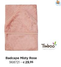 Badcape misty rose-Timboo