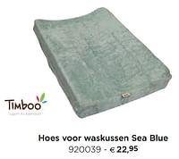 Hoes voor waskussen sea blue-Timboo